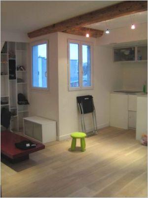 d co chambre de bonne. Black Bedroom Furniture Sets. Home Design Ideas