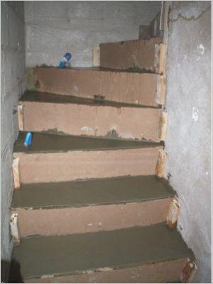 Construction d 39 un escalier b ton page 8 for Escalier exterieur beton arrondi