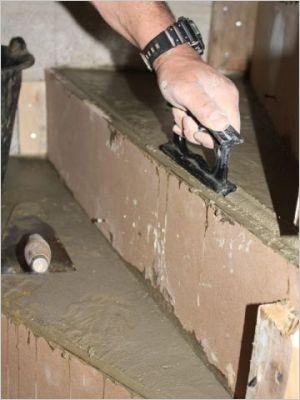 Construction d 39 un escalier b ton page 9 for Escalier exterieur beton arrondi