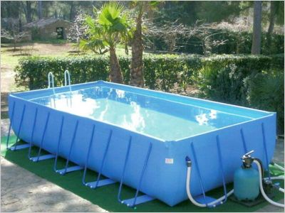 10 piscines hors sol rapides installer page 3 - Piscine hors sol demontable ...