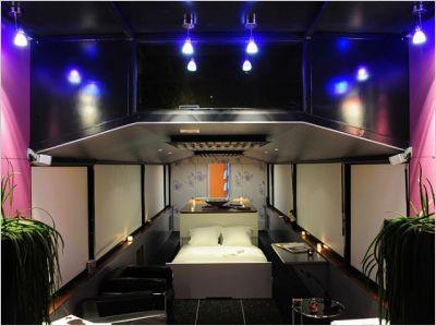 H bergement insolite un loft sur l eau espace for Espace insolite