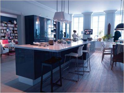 Dix solutions pour structurer l 39 espace page 9 for Separation cuisine salon petit espace