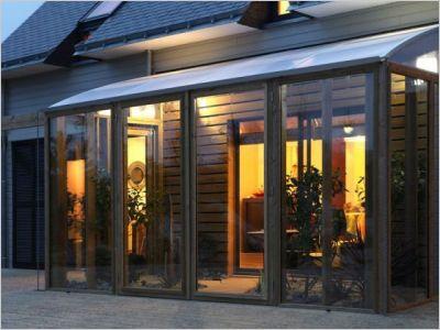 Une maison bioclimatique pouse la nature page 9 - Construire jardin d hiver ...