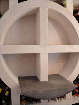 une cave vin sur mesure en b ton cellulaire page 2. Black Bedroom Furniture Sets. Home Design Ideas