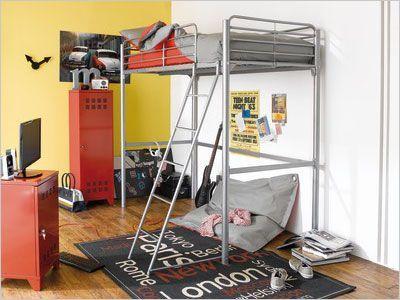 deux enfants une chambre huit solutions pour partager l 39 espace maisonapart. Black Bedroom Furniture Sets. Home Design Ideas