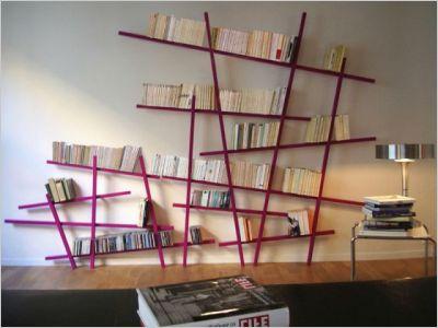 am nager une biblioth que les livres l o on ne les attend pas maisonapart. Black Bedroom Furniture Sets. Home Design Ideas