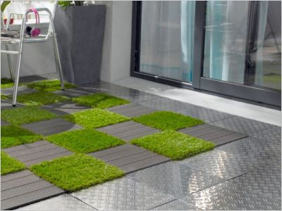 Terrasse, balcon : la folie des dalles !