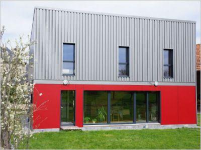 Une maison passive à prix optimisé montée en trois jours