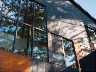 Maison d'architecte : Une cabane moderne au Canada