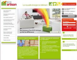 Un site internet pour trouver son Eco Artisan®