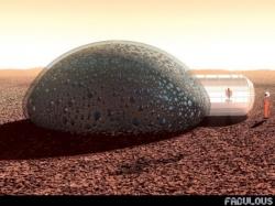 Une maison spécialement conçue pour habiter la planète Mars