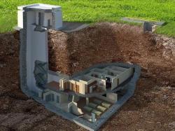 Insolite : visite d'une maison anti-nucléaire située à 14 mètres sous terre