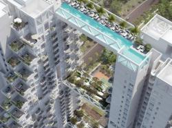 Sky Habitat : des appartements suspendus dans les cieux de Singapour