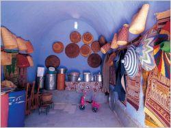 Intérieur d'une maison nubienne dans le sud de l'Egypte - Vitra Design Museum