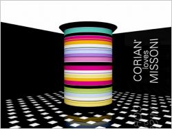"Corian et Missoni : ""Le"" couple de Milan"