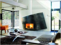 La cheminée : une sculpture vivante