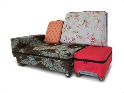 Les valises-canapés ou comment voyager confort