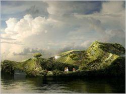 Un spa végétal flottant bientôt construit à Amsterdam