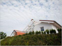 La maison Bio Solar laisse entrer le soleil