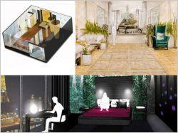Terre de design : bienvenue dans la chambre d'hôtel de luxe de demain