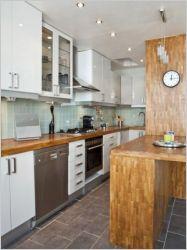 La m tamorphose d 39 un couloir de 7m2 en cuisine - Amenager une cuisine de 8m2 ...