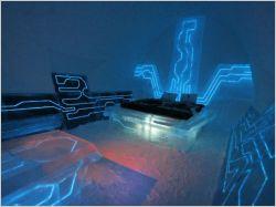 Une cyber suite version glacée pour le film Tron