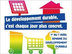 La semaine du développement durable 2011