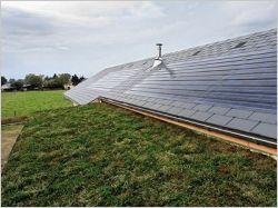 Verdura d'Eternit : enfin une solution de végétalisation pour les toitures en pente !