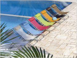 Sélection de chaises longues ultra stylées