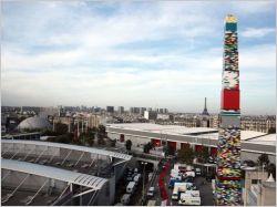 La plus haute tour en Lego du monde est française !
