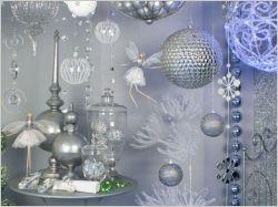 """Une décoration de Noël """"effet givré"""""""