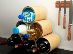 Créez votre casier à bouteilles à partir de récup'