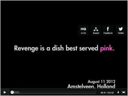 Video revanche en rose