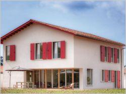 Architecture basque pour une maison passive