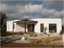 Une maison contemporaine fait rimer domotique et bioclimatique