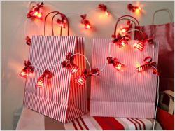 Création spéciale fêtes : des guirlandes lumineuses personnalisées