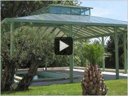 Une véranda en fer forgé (vidéo)