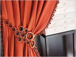 Des id es pour embellir ses rideaux - Embrasses rideaux originales ...