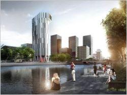 Une tour de logements à énergie positive pour Strasbourg
