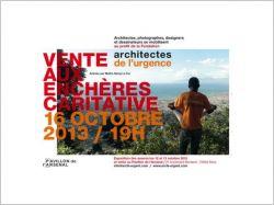 """Architectes et designers se mobilisent pour les """"Architectes de l'Urgence"""""""