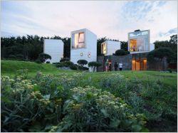 Une maison en cubes remporte le Prix du jury Archinovo