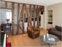 Appartement de charme dans un immeuble du vieux Paris
