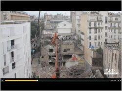 Sous vos yeux, un immeuble disparaît de Paris