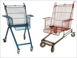 La nouvelle vie des chariots de supermarché