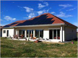Une maison passive en béton cellulaire économe et économique