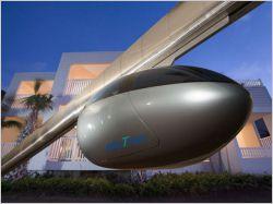SkyTran, des capsules volantes au coeur de la ville