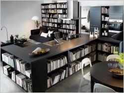 Vivre au milieu des livres