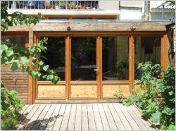 Extension et rénovation d'une maison de ville et de son jardin