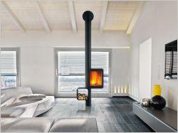 Dix poêles à bois pour un intérieur design