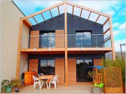 Une maison d'architecte montée en cinq mois